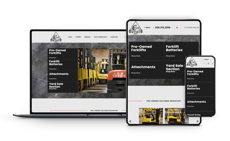We know material handling equipment - Custom responsive websites with tools and features specifically designed for your material handling dealership. Our expertise comes from real-world dealership experience providing web solutions and tools for thousands of dealers worldwide.